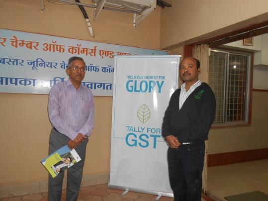 Mr. Upendra With Mr. Lalit Malviya