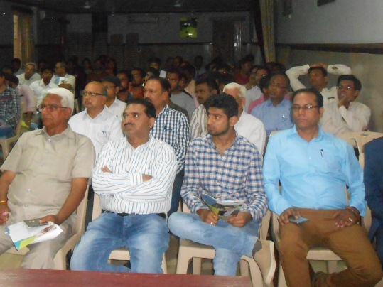 Mr. Anand Murty is seen among the audience