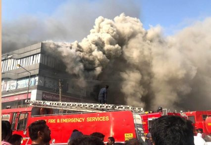 Fire Accident in Surat